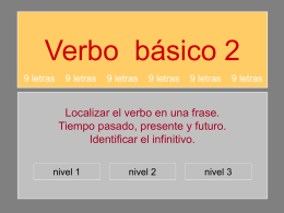 verbo_BÁSICO_2 - 9 letras