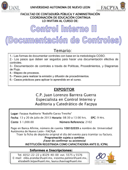 13 y 20 jul. control Interno II (doc. de controles)