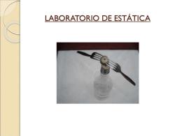 LABORATORIO DE ESTÁTICA