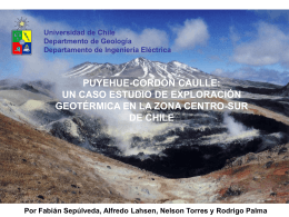 PUYEHUE-CORDON CAULLE: A CASE STUDY