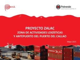 Proyecto ZALAC - Agencia de promoción de la inversión privada