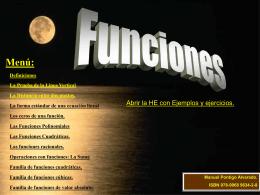 Funciones - Repositorio TEC