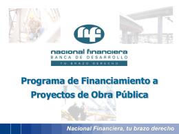 Programa de Financiamiento de Obra Pública