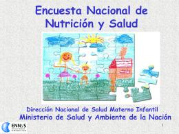 Encuesta Nacional de Nutrición y Salud