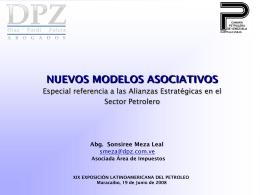 Nuevos modelos asociativos (Díaz, Pardi & Zuleta)