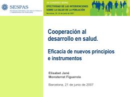 Eficacia de los nuevos principios e instrumentos para la