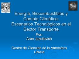 Escenarios Tecnológicos en el Sector Transporte - pincc