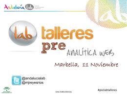 Objetivos - Andalucía Lab