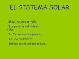 SISTEMA SOLAROKBIS