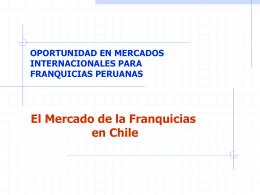 El mercado de la gastronomía en Chile