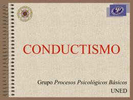 Paradigma Conductista - uned2010-1
