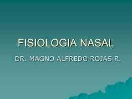FISIOLOGÍA NASAL.