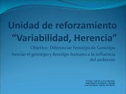 pp1 Genotipo y Fenotipo