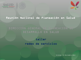 12. Integración de Redes de Servicios