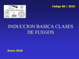 CLASES DE FUEGO - AURA-O