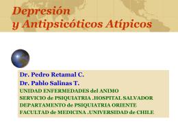 Depresión y Antipsicóticos Atípicos