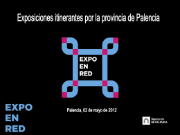 power point expo en red - Diputación de Palencia