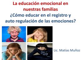educar en emociones