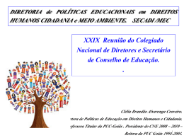 Educação, Diversidade, Direitos Humanos
