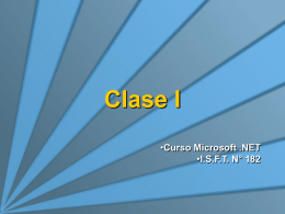 Clase 1 - Introduccion