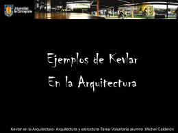 Kevlar en la Arquitectura- Arquitectura y estructura