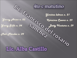 Lic. Francisco del rosario sanchez