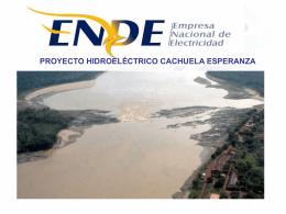 PROYECTO HIDROELÉCTRICO CACHUELA ESPERANZA