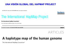 Canet, Belén: HapMap