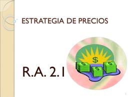ESTRATEGIA DE PRECIOS (1719808)
