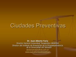 Ciudades Preventivas