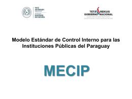 Presentación MECIP.
