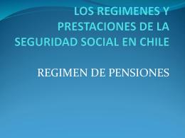 Regimen de Pensiones - AFP