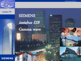 SIEMENS instabus EIB Gamma wave