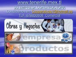 productos y precios... - Casas de madera Tenerife 676030808