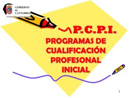Presentacion PCPI SI - Blog IES VALENTÍN TURIENZO