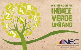 Presentación INDICE VERDE URBANO 18-05-2012