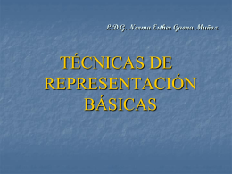 Diapositiva 1 - tecnicas de representación básicas
