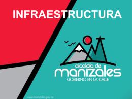 INFRAESTRUCTURA - Alcaldia de Manizales