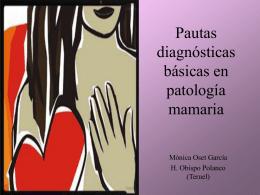 Pautas diagnósticas básicas en patología mamaria