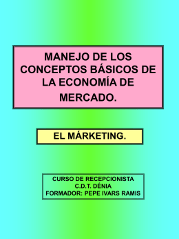 MANEJO DE LOS CONCEPTOS BÁSICOS DE LA