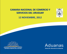 Sr. Enrique Canon, Director Nacional de Aduanas