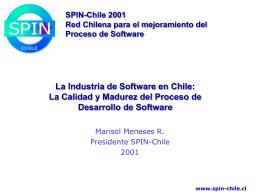 Presentación SPIN-Chile