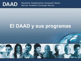Presentación DAAD
