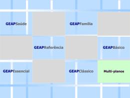 Apresentação GEAP Essencial e Clássico