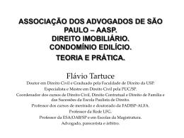 curso aasp. direito imobiliário. novembro de 2012