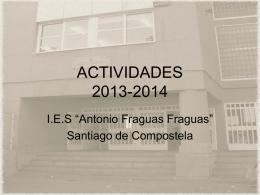 ACTIVIDADES 2010-2011