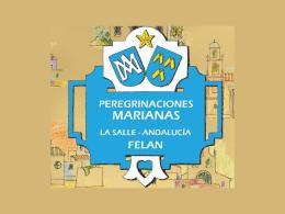 Peregrinaciones Marianas en Andalucía