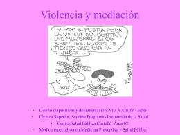 Violencia y mediación