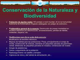 Conservación de la Naturaleza y Biodiversidad