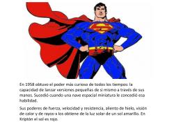 SUPERHEROES - Instituto Pedagógico Emmanuel Kant
